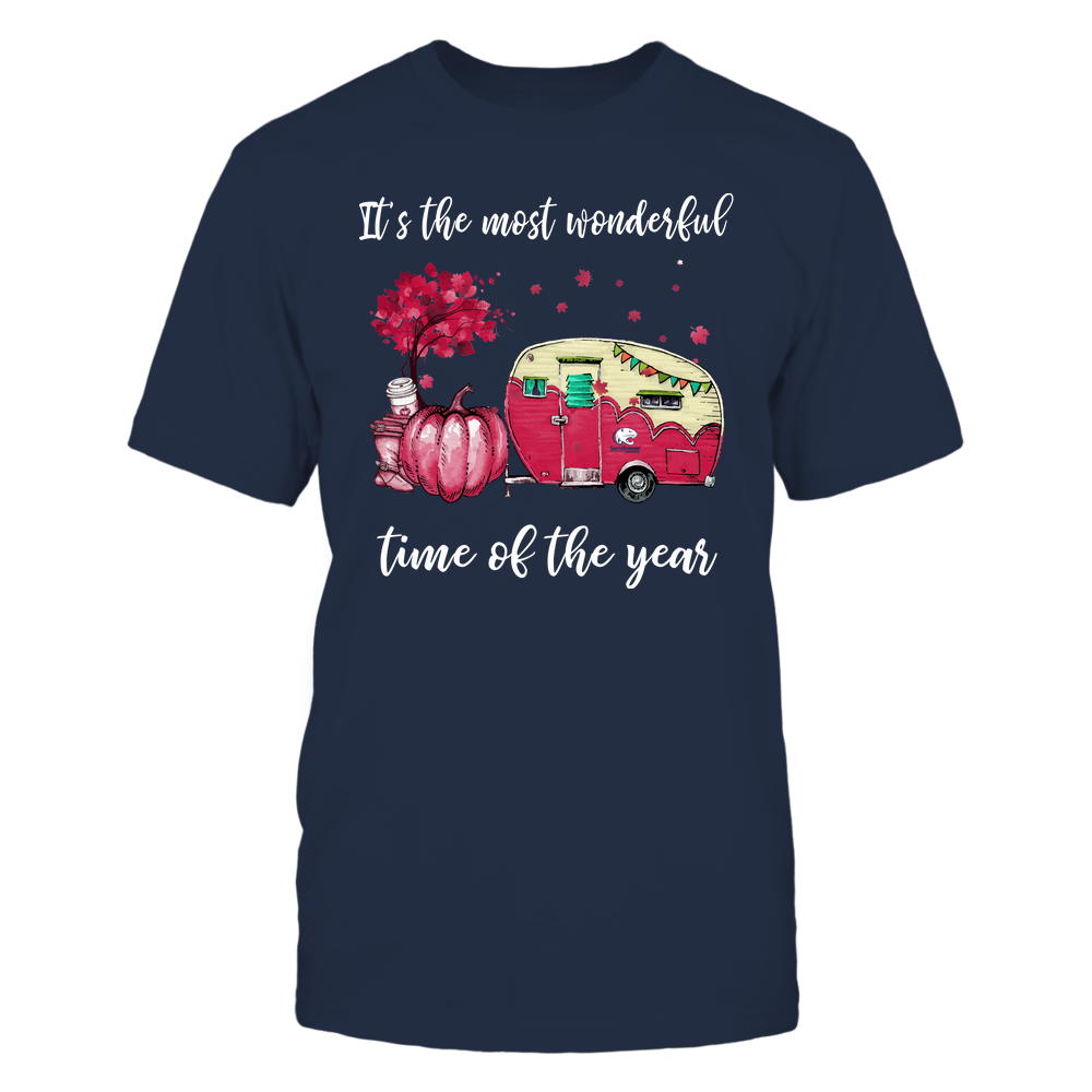 South Alabama Jaguars - Fall - Camper - It's The Most Wonderful Time Front picture