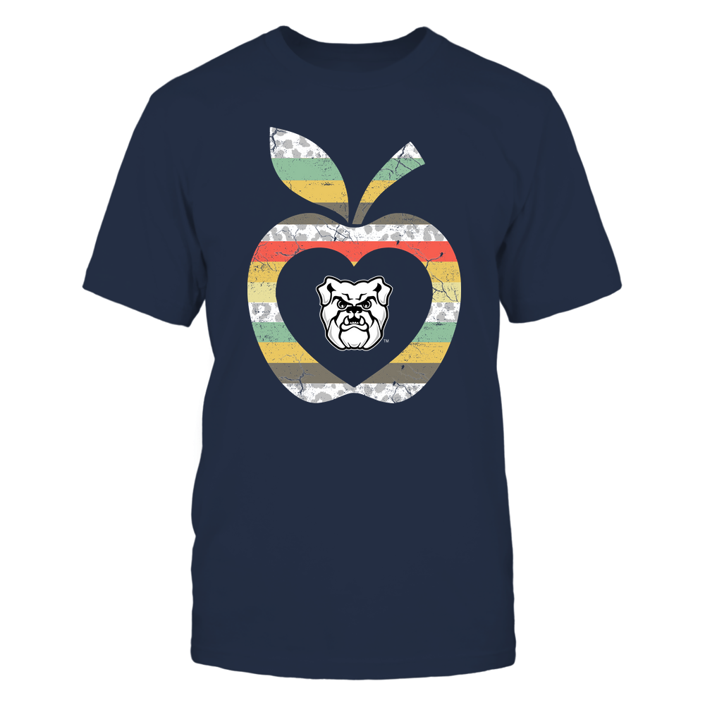 Butler Bulldogs - Teacher - Leopard Vintage Apple - Team Front picture