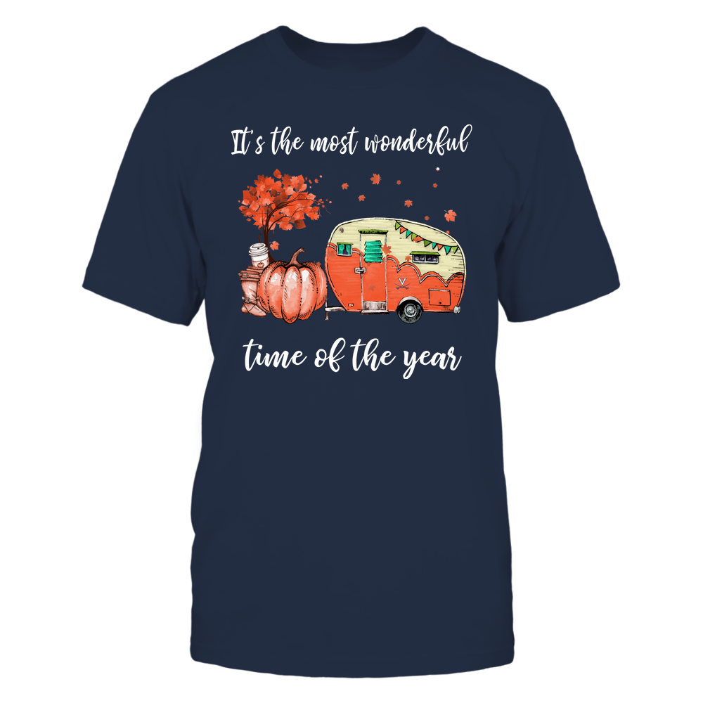 Virginia Cavaliers - Fall - Camper - It's The Most Wonderful Time Front picture
