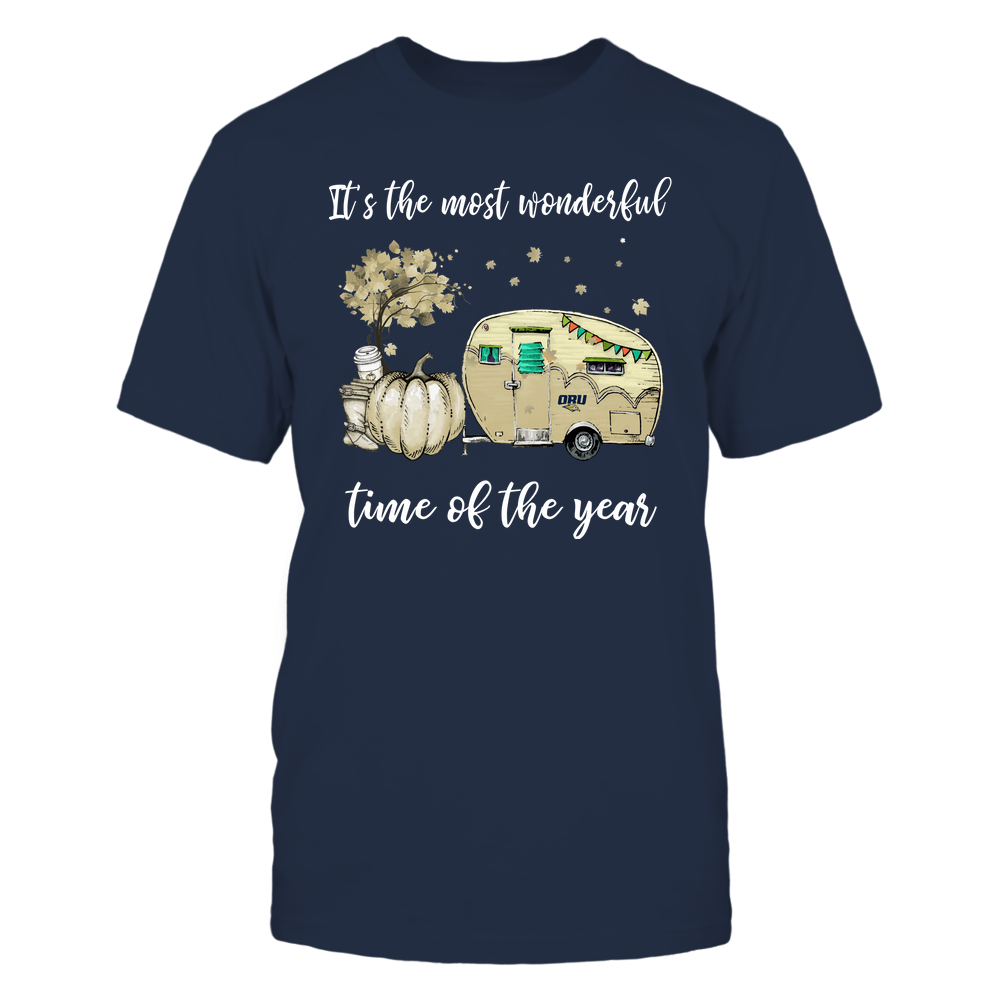 Oral Roberts Golden Eagles - Fall - Camper - It's The Most Wonderful Time Front picture
