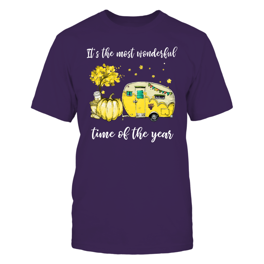 Minnesota State Mavericks - Fall - Camper - It's The Most Wonderful Time Front picture