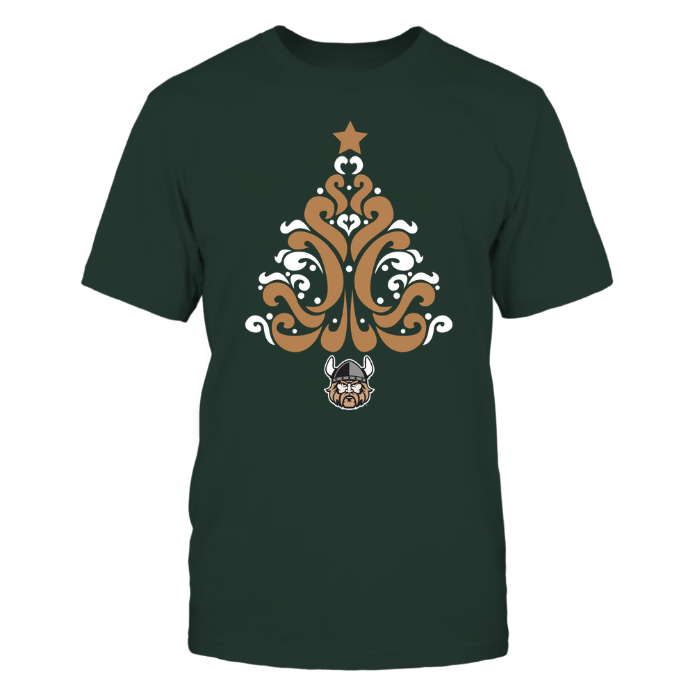 Cleveland State Vikings - 19100710575 - Christmas - Pattern Tree - APCX - IF32-IC32-DS37 Front picture