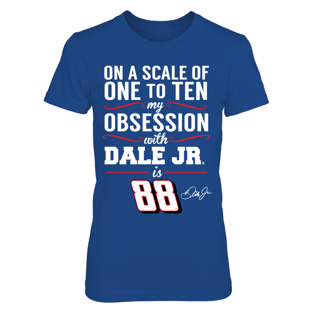 Dale Earnhardt Jr. - Obsession Level Front picture