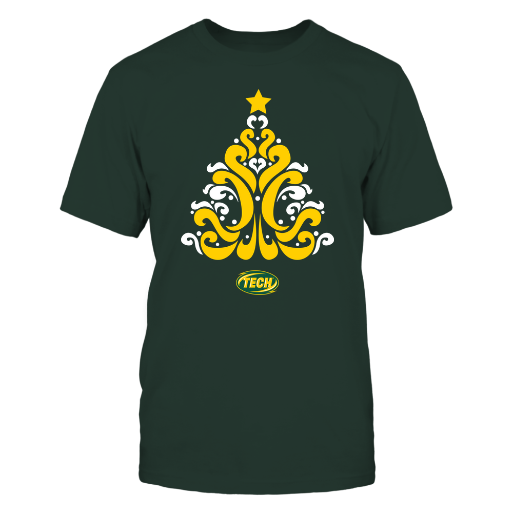 Arkansas Tech Golden Suns - 19100710575 - Christmas - Pattern Tree - APCX - IF32-IC32-DS37 Front picture