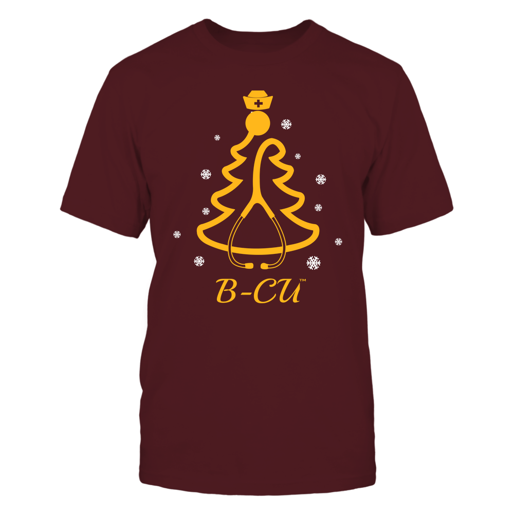 Bethune-Cookman Wildcats - 19100710576 - Christmas - Nurse - Stethoscope Christmas Tree - APCX - IF13-IC13-DS45 Front picture