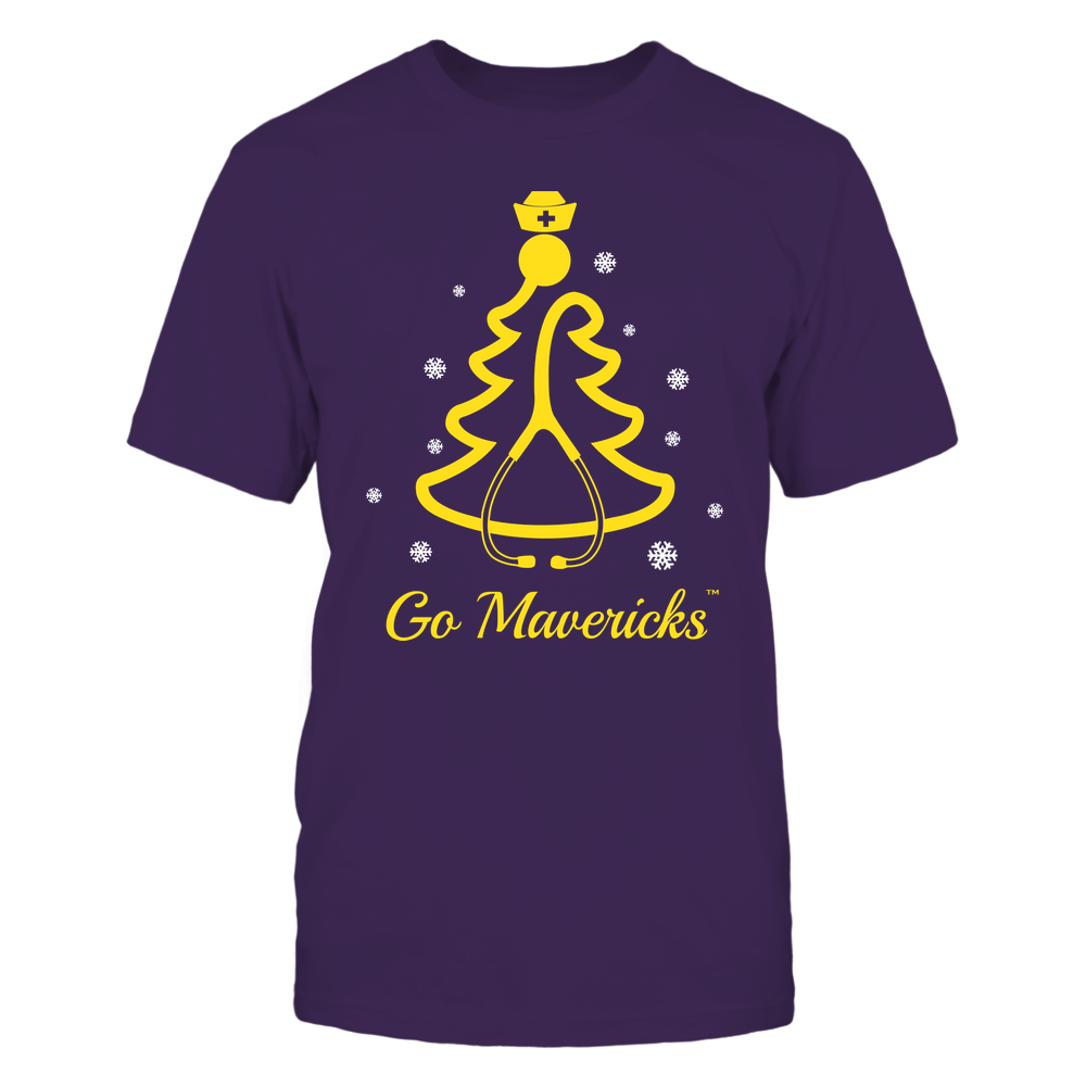 Minnesota State Mavericks - 19100710576 - Christmas - Nurse - Stethoscope Christmas Tree - APCX - IF13-IC13-DS45 Front picture