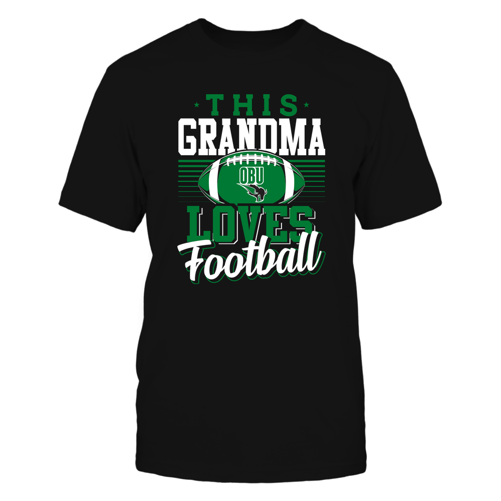 Oklahoma Baptist Bison - This Grandma Loves Football - Team Front picture