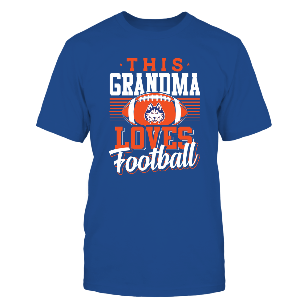 Houston Baptist Huskies - This Grandma Loves Football - Team Front picture