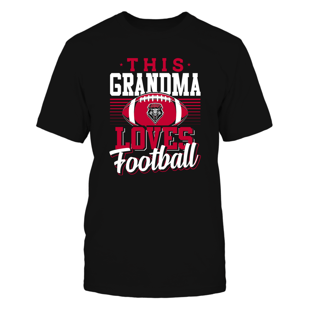 New Mexico Lobos - This Grandma Loves Football - Team Front picture