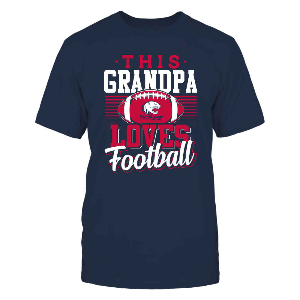 South Alabama Jaguars - This Grandpa Loves Football - Team Front picture