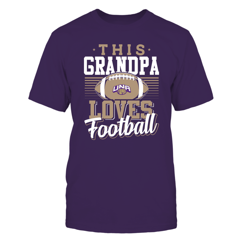 North Alabama Lions - This Grandpa Loves Football - Team Front picture