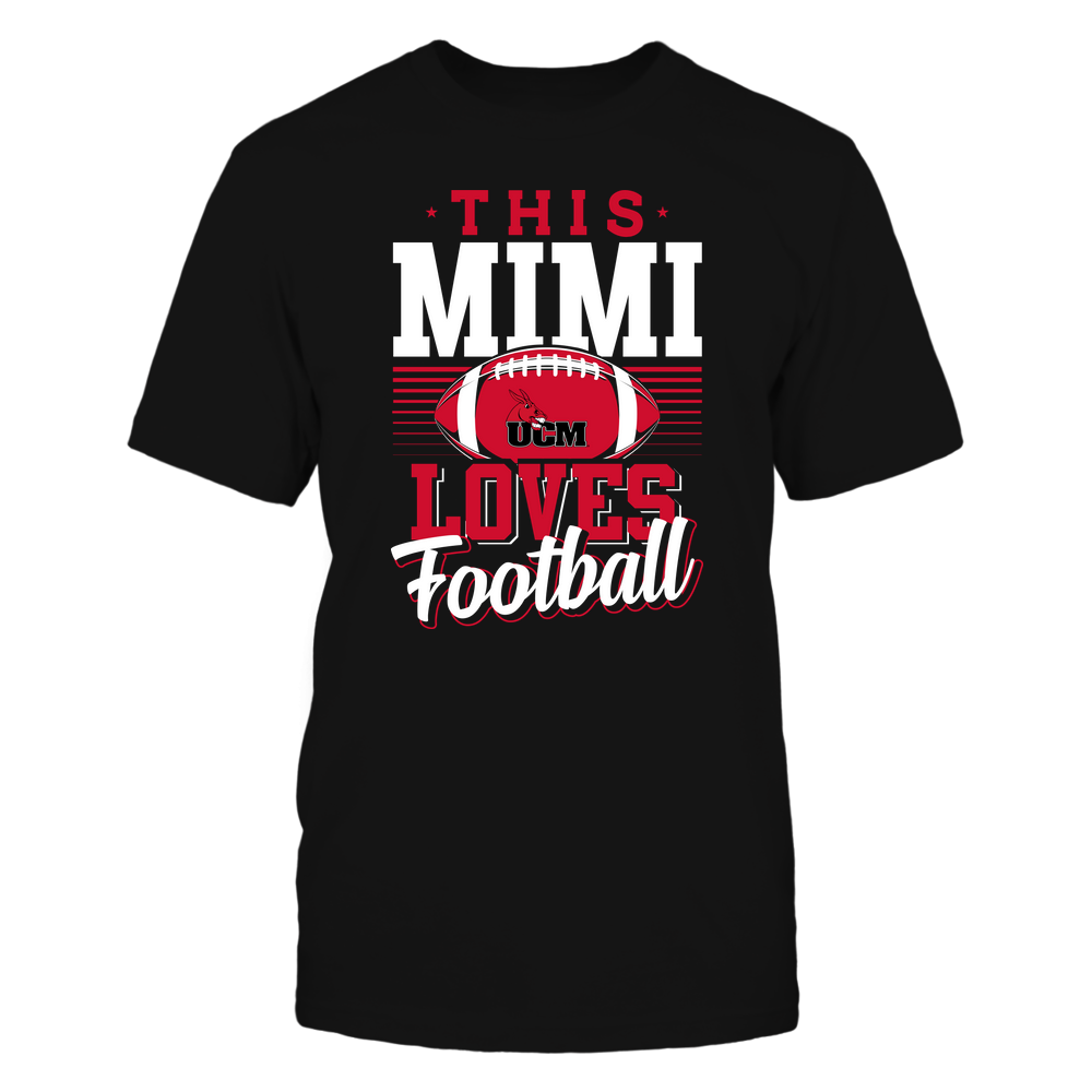 Central Missouri Mules - This Mimi Loves Football - Team Front picture