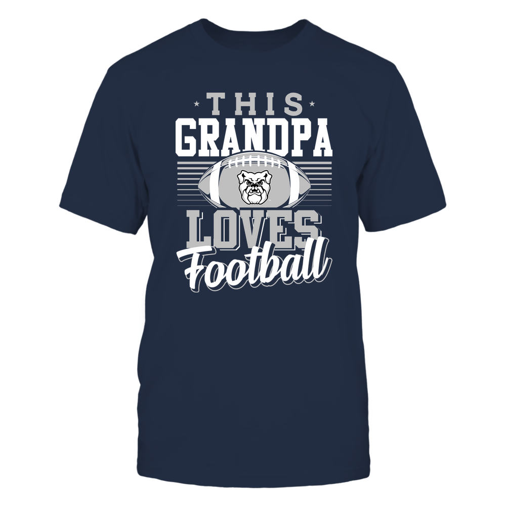 Butler Bulldogs - This Grandpa Loves Football - Team Front picture