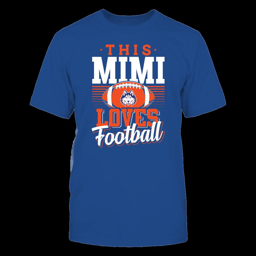 Houston Baptist Huskies - This Mimi Loves Football - Team Front picture