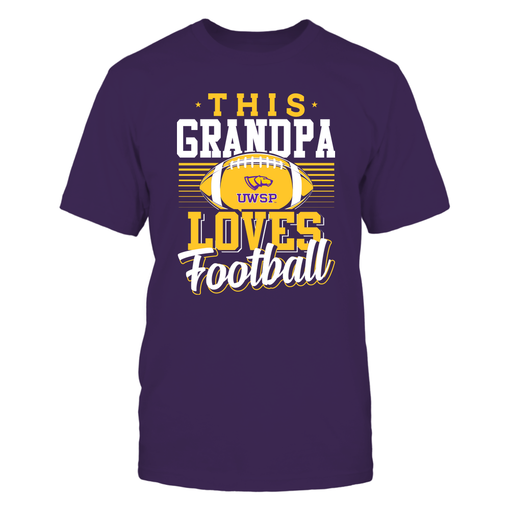 Wisconsin-Stevens Point Pointers - This Grandpa Loves Football - Team Front picture