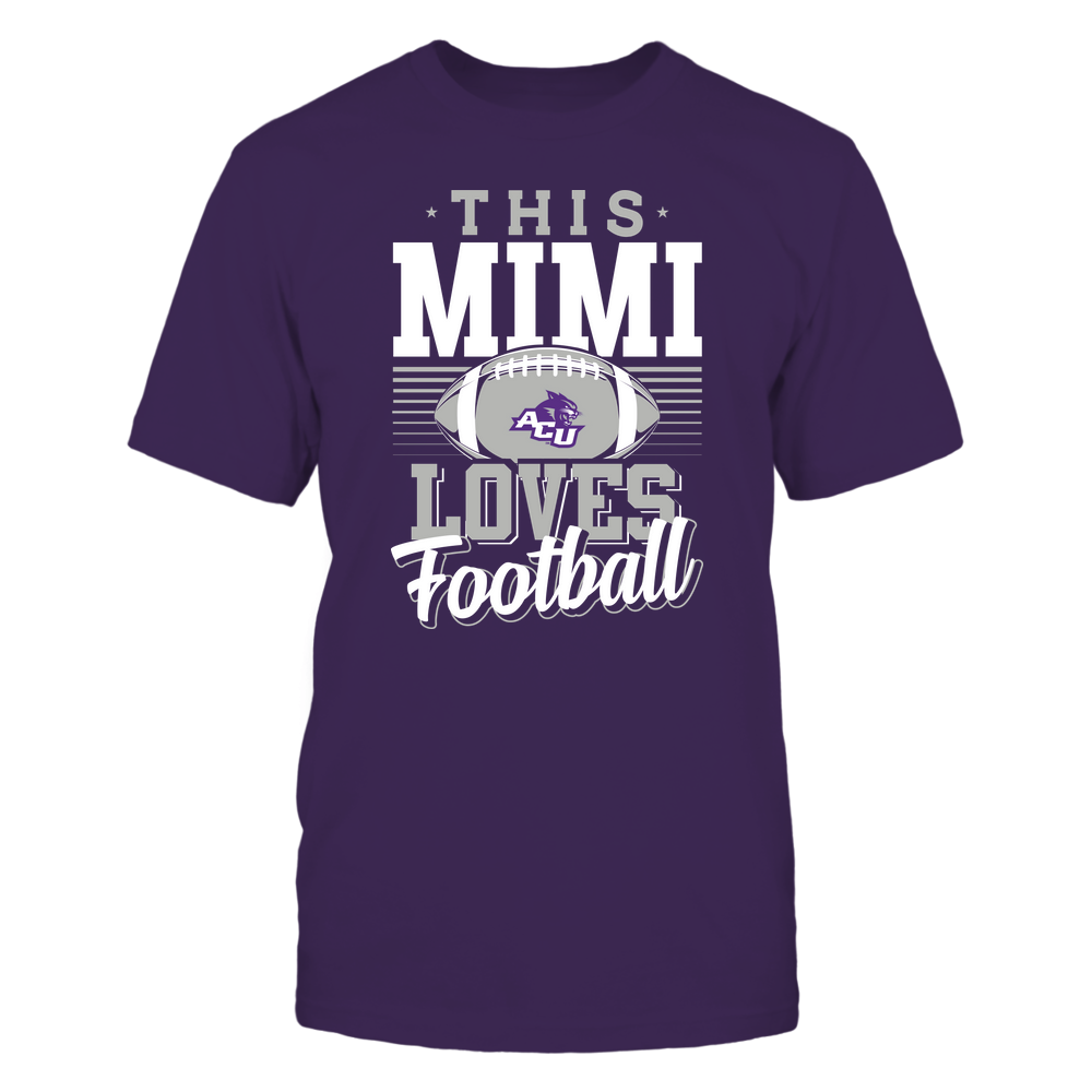 Abilene Christian Wildcats - This Mimi Loves Football - Team Front picture