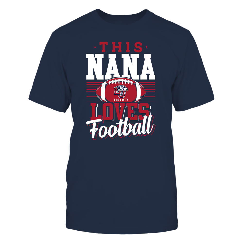 Liberty Flames - This Nana Loves Football - Team Front picture