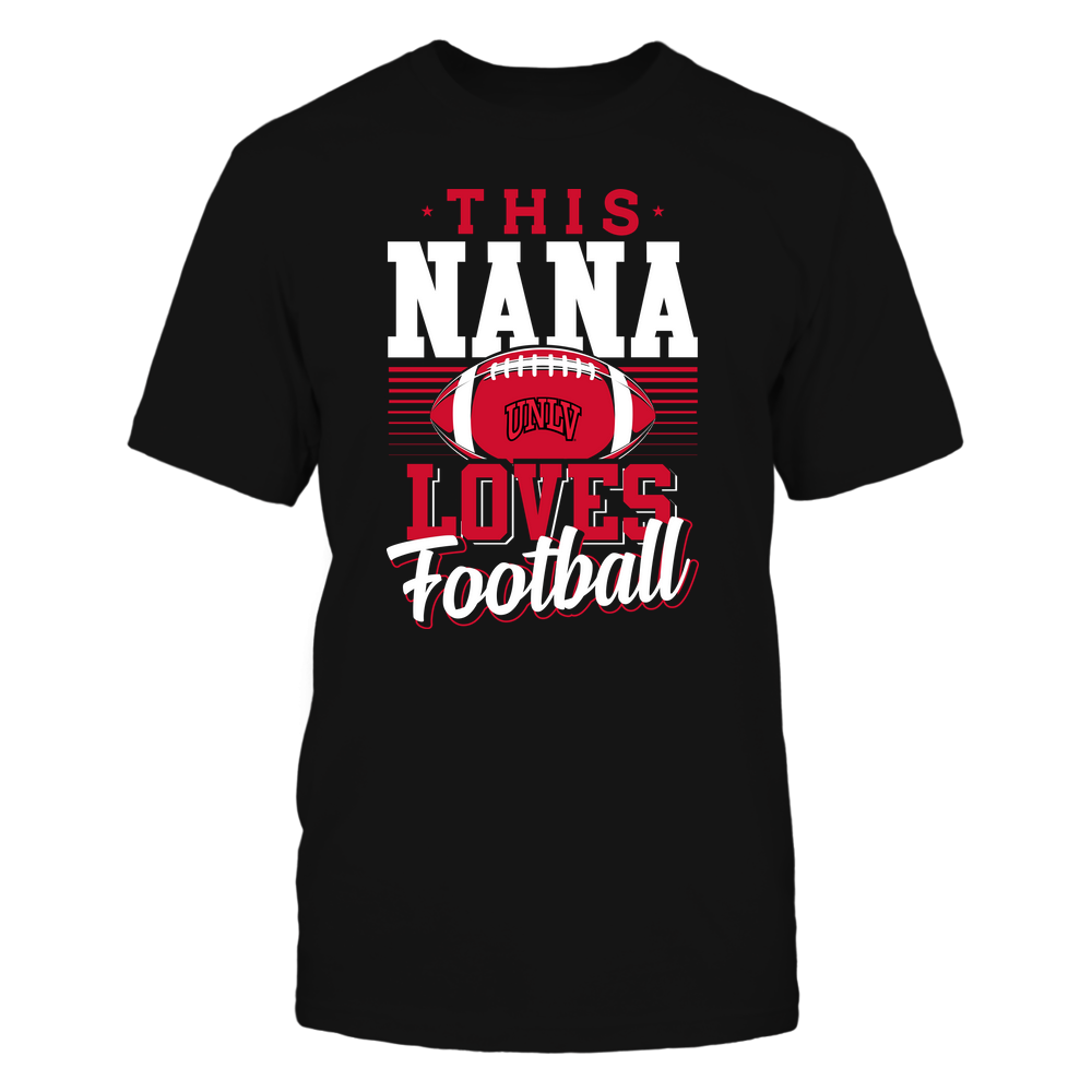 UNLV Rebels - This Nana Loves Football - Team Front picture