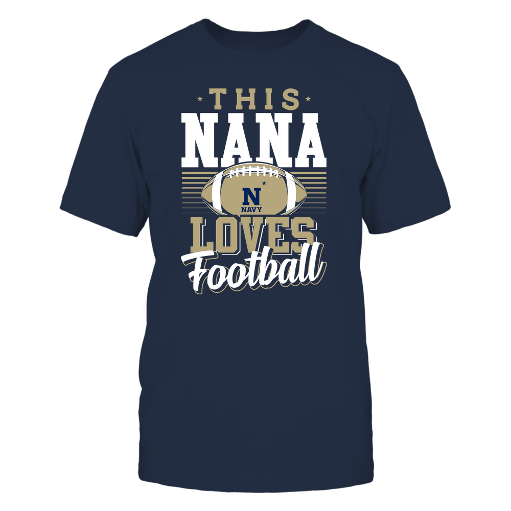 Navy Midshipmen - This Nana Loves Football - Team Front picture