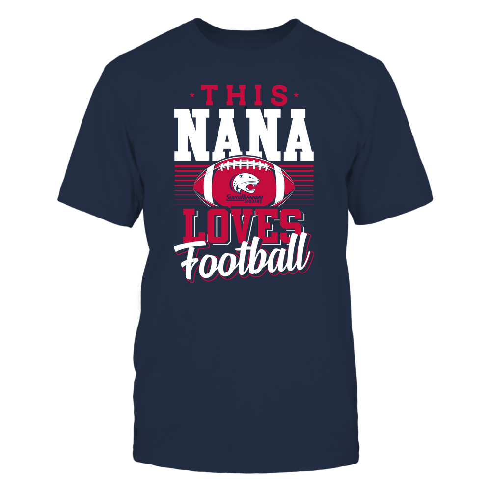 South Alabama Jaguars - This Nana Loves Football - Team Front picture