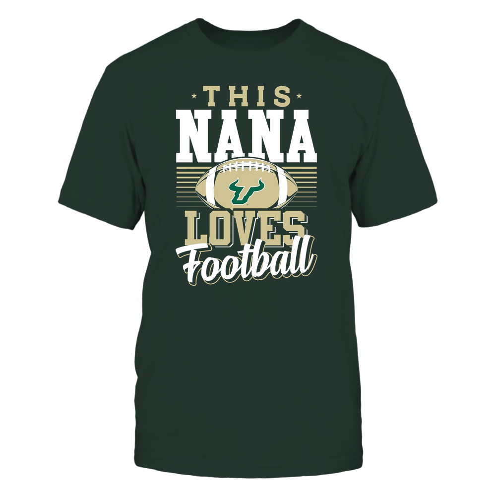 South Florida Bulls - This Nana Loves Football - Team Front picture