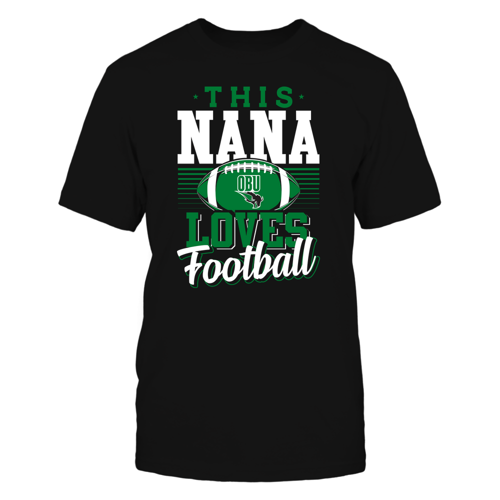 Oklahoma Baptist Bison - This Nana Loves Football - Team Front picture