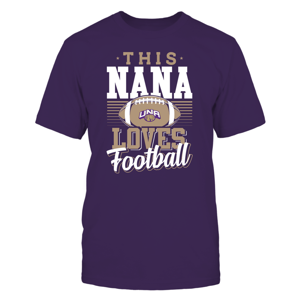 North Alabama Lions - This Nana Loves Football - Team Front picture
