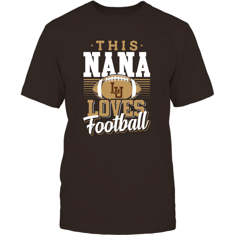 Lehigh Mountain Hawks - This Nana Loves Football - Team Front picture