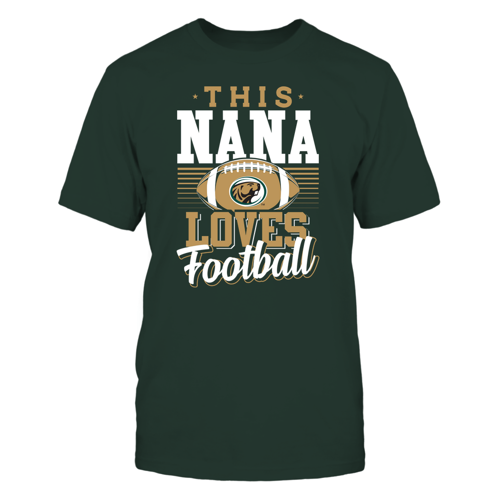 Bemidji State Beavers - This Nana Loves Football - Team Front picture