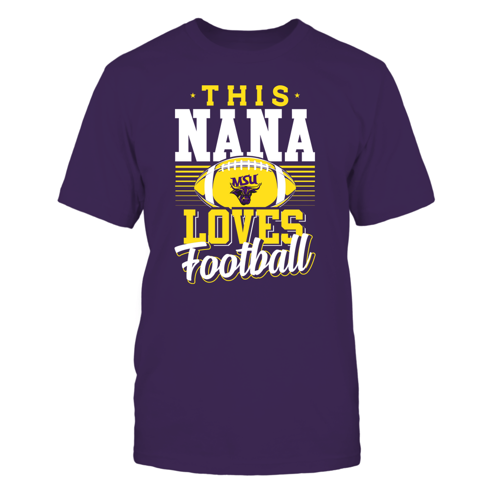 Minnesota State Mavericks - This Nana Loves Football - Team Front picture