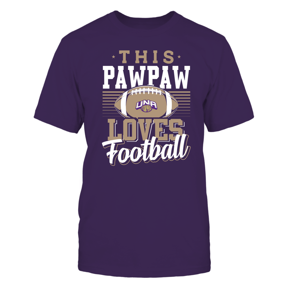 North Alabama Lions - This Pawpaw Loves Football - Team Front picture