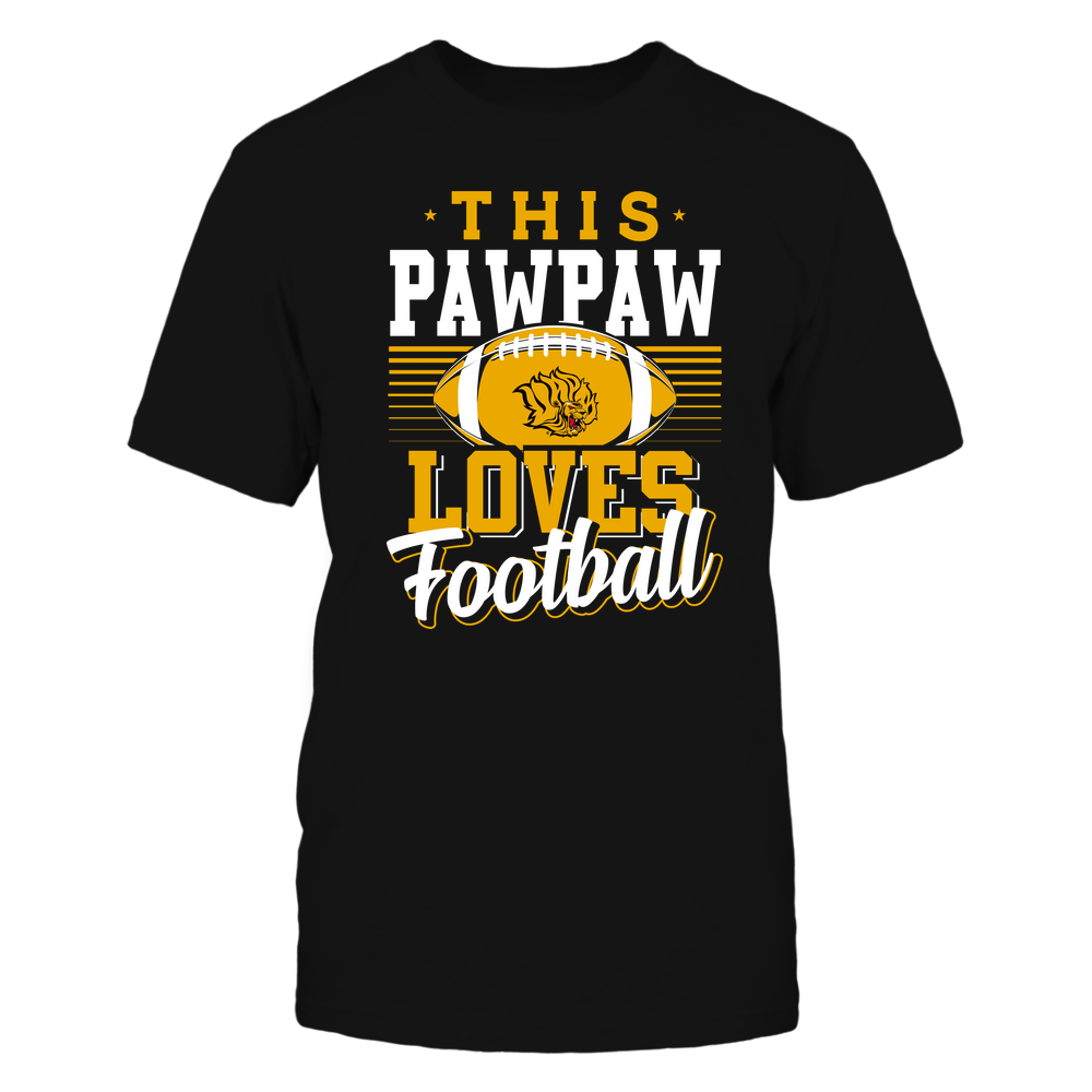 Arkansas Pine Bluff Golden Lions - This Pawpaw Loves Football - Team Front picture