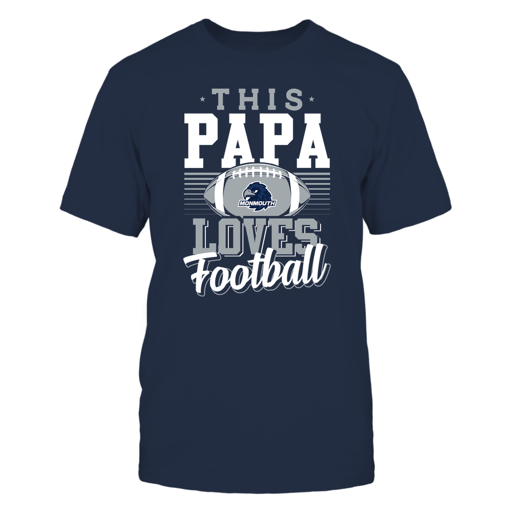 Monmouth Hawks - This Papa Loves Football - Team Front picture