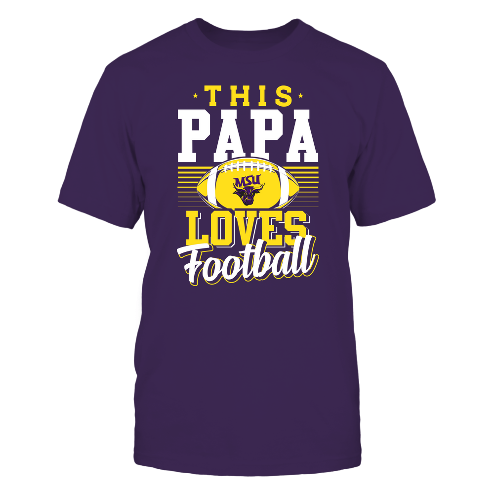 Minnesota State Mavericks - This Papa Loves Football - Team Front picture