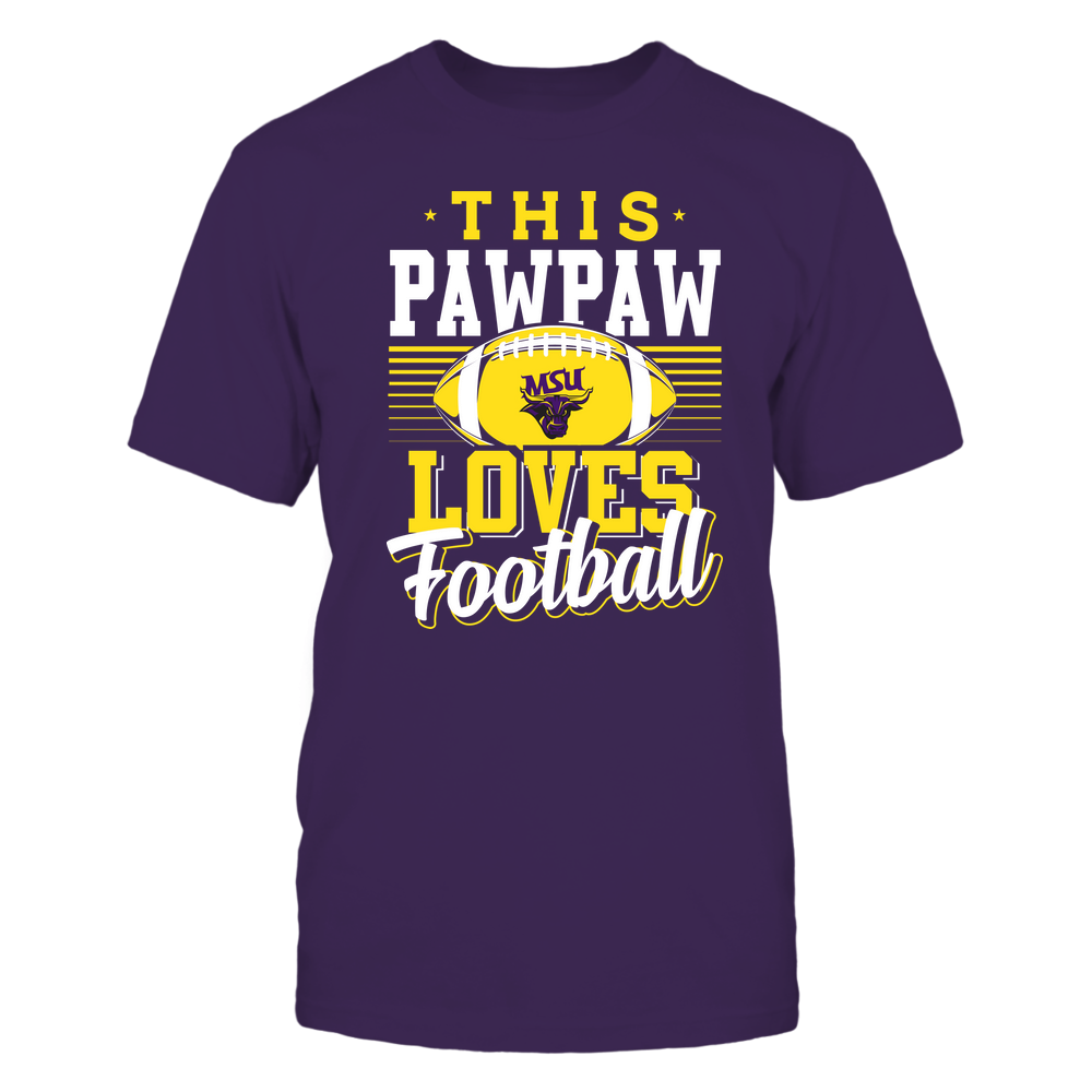 Minnesota State Mavericks - This Pawpaw Loves Football - Team Front picture