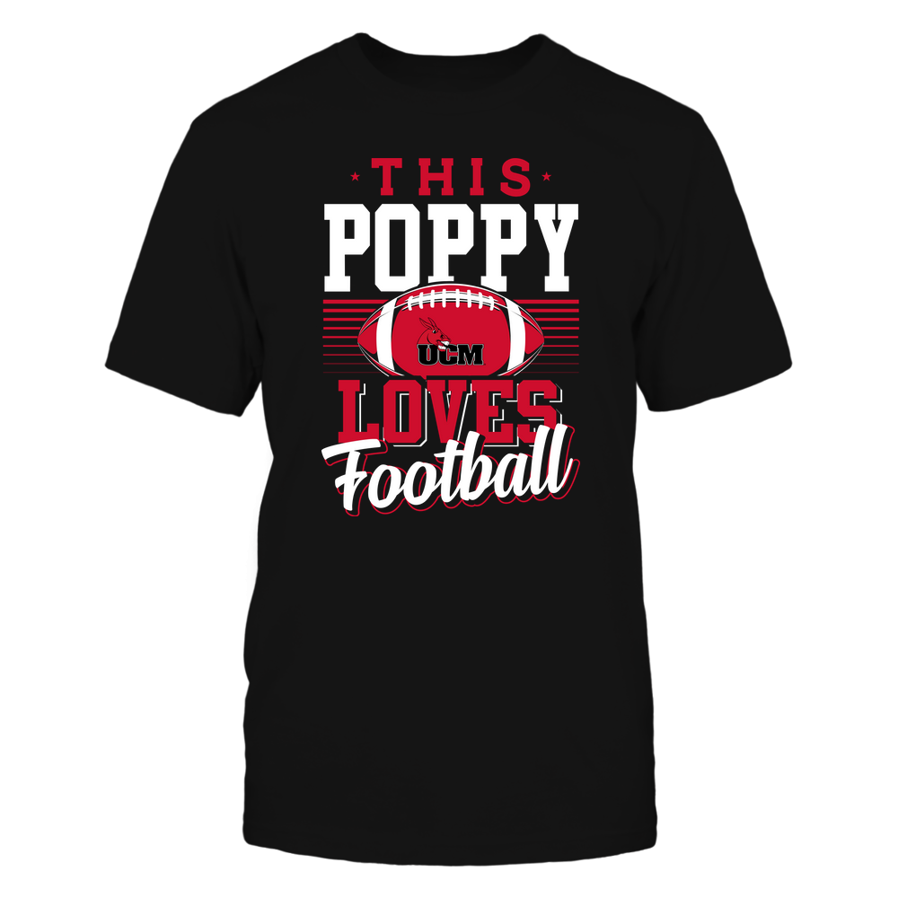 Central Missouri Mules - This Poppy Loves Football - Team Front picture