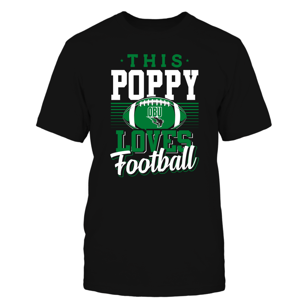 Oklahoma Baptist Bison - This Poppy Loves Football - Team Front picture