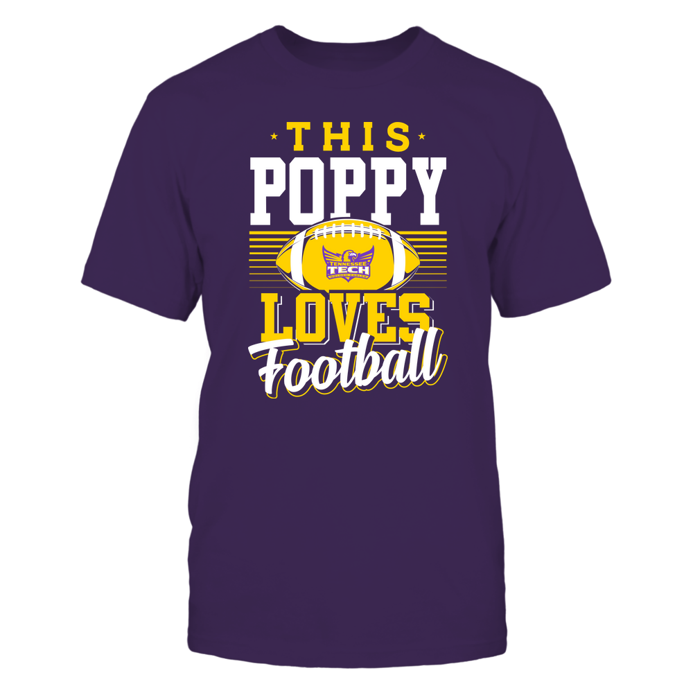 Tennessee Tech Golden Eagles - This Poppy Loves Football - Team Front picture