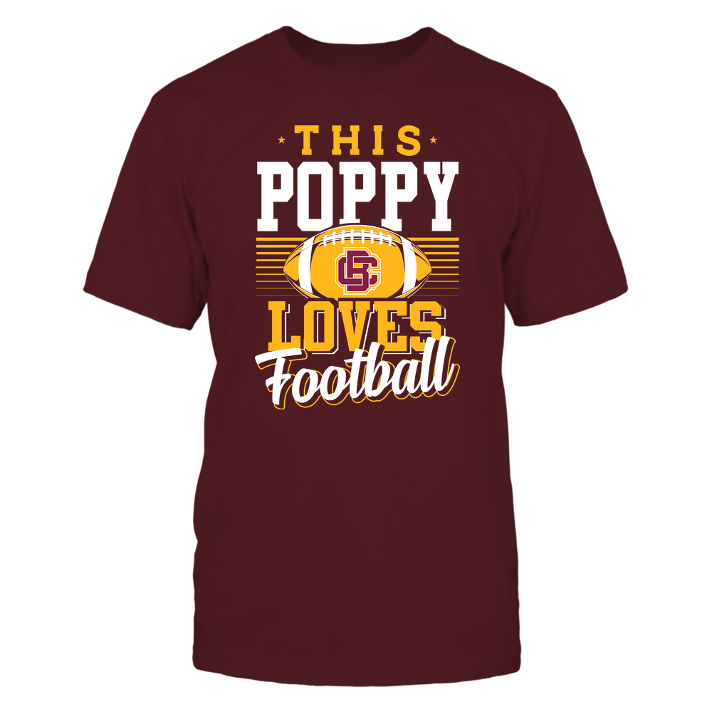 Bethune-Cookman Wildcats - This Poppy Loves Football - Team Front picture