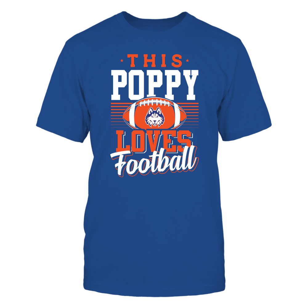 Houston Baptist Huskies - This Poppy Loves Football - Team Front picture