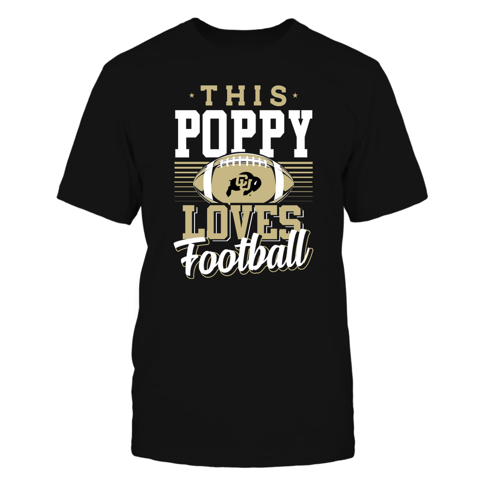 Colorado Buffaloes - This Poppy Loves Football - Team Front picture