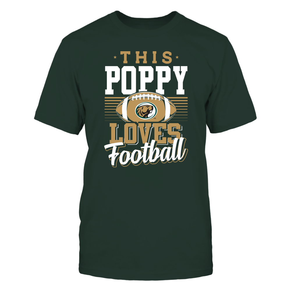 Bemidji State Beavers - This Poppy Loves Football - Team Front picture