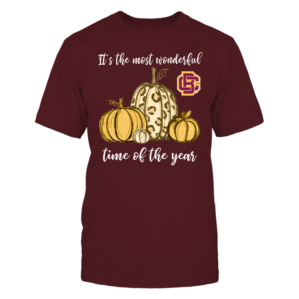 Bethune-Cookman Wildcats - Fall ^ It's The Most Wonderful Time Of The Year - Pumpkins Front picture
