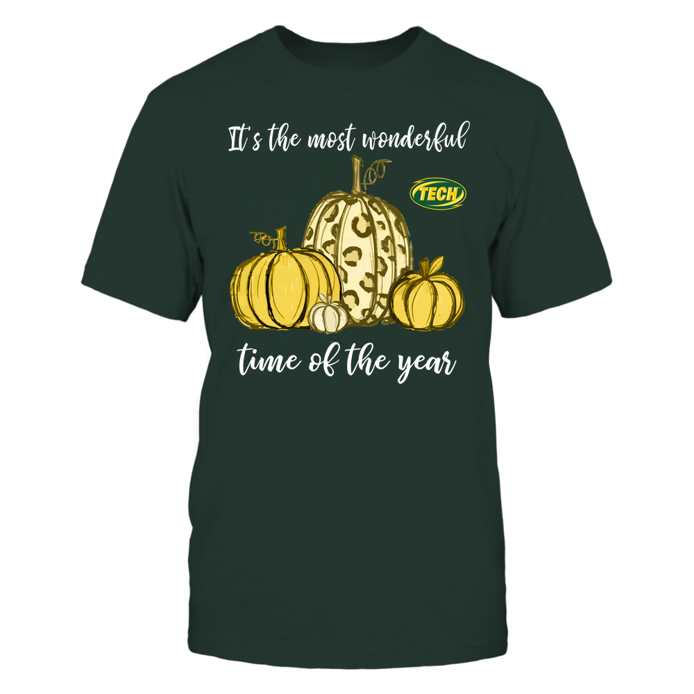 Arkansas Tech Golden Suns - Fall ^ It's The Most Wonderful Time Of The Year - Pumpkins Front picture