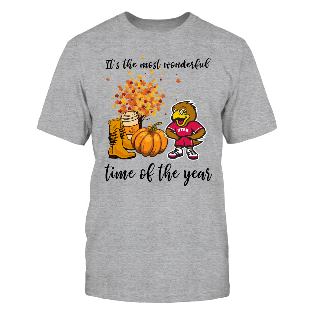 Utah Utes - Fall Most Wonderful Time - Mascot - IF13-IC13-DS38 Front picture