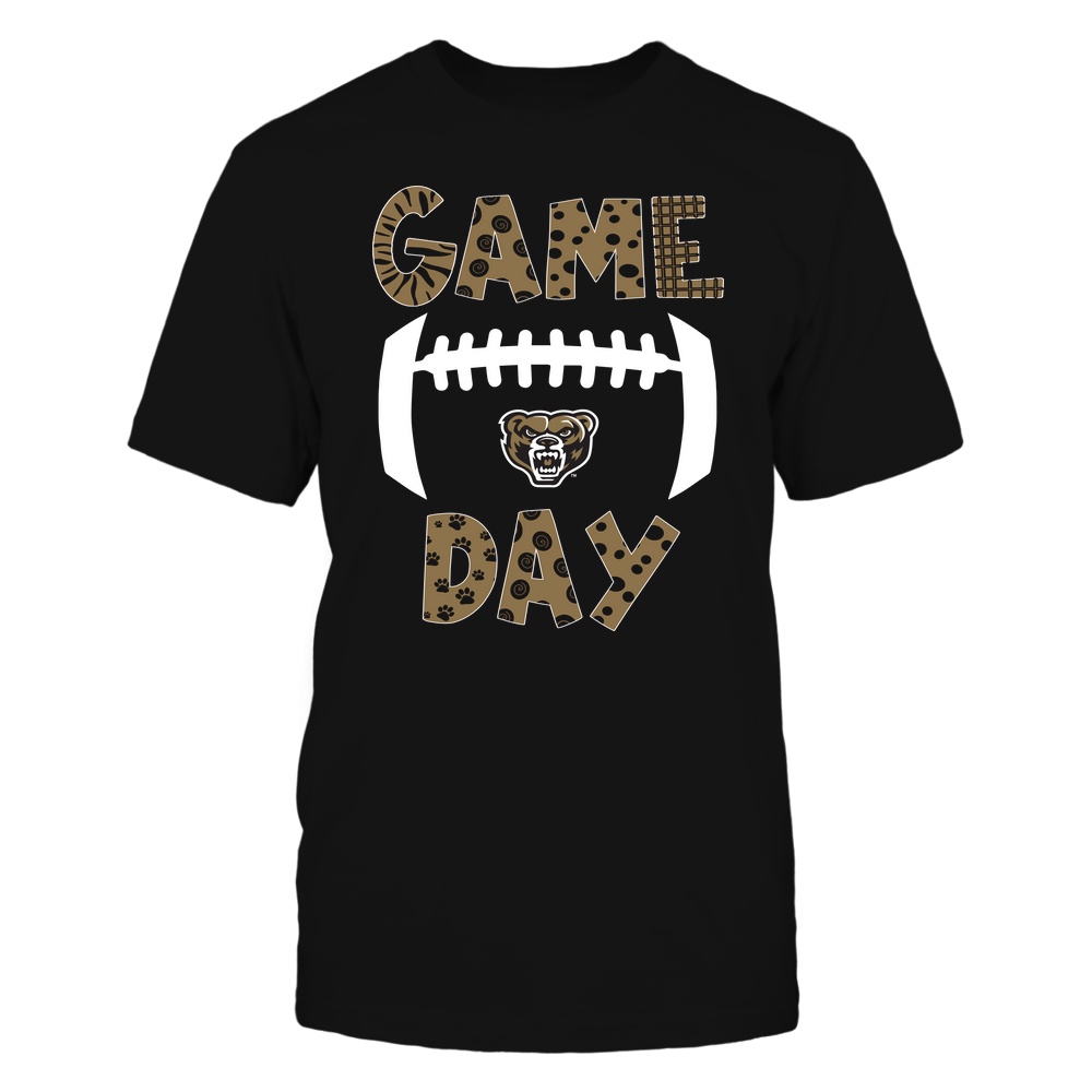 Oakland Golden Grizzlies - Game Day Doodle - Football - Team Front picture