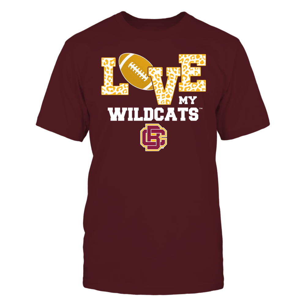 Bethune-Cookman Wildcats - Love My Team - Leopard Football - Team Front picture