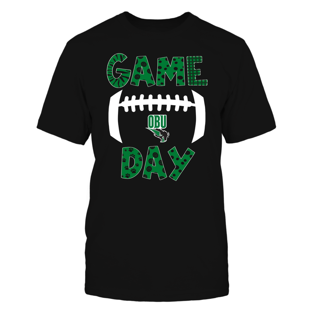 Oklahoma Baptist Bison - Game Day Doodle - Football - Team Front picture