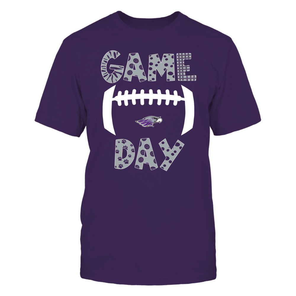 Wisconsin-Whitewater Warhawks - Game Day Doodle - Football - Team Front picture