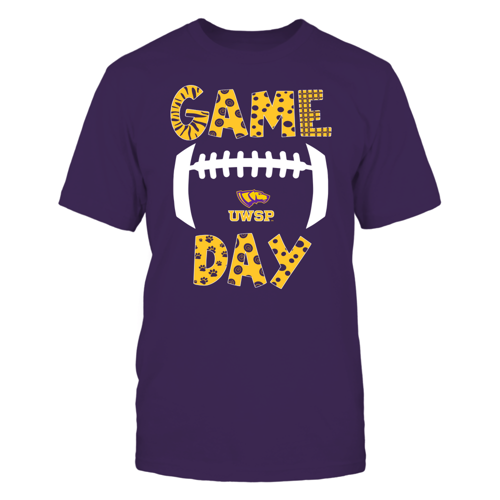 Wisconsin-Stevens Point Pointers - Game Day Doodle - Football - Team Front picture